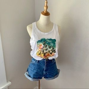 Vintage Cozumel Graphic Vacation Tank